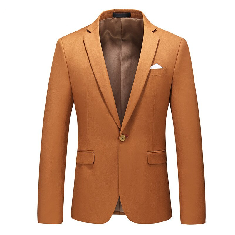 High Quality Single Button Men's Fashion Blazers 15 colors